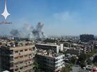Quân đội Syria trút hỏa lực dữ dội vùi dập phiến quân ngoại vi Damascus (video)