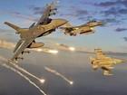 """Quân đội Syria bị chiến đấu cơ lạ không kích, Mỹ """"khó ở"""" với Assad"""
