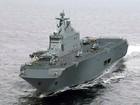 Trung Quốc đóng tàu đổ bộ trực thăng khủng 40.000 tấn (video)