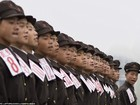 Binh sĩ Triều Tiên trước giông bão chiến tranh (ảnh + video)