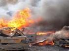 Liên quân Mỹ tấn công kho vũ khí hóa học IS ở Deir Ezzor, hàng trăm người chết