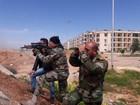 Quân đội Syria vây dồn phiến quân ngoại vi Damascus vào tuyệt địa (video)