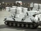 Ngắm dàn vũ khí mới Tor-M2DT và Pantsir-SA Nga tập diễu binh (video)