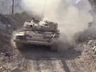 Trận chiến quân đội Syria đánh gục phiến quân, giải phóng ngoại ô Damascus (video)