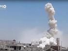 Hỏa lực quân đội Syria hủy diệt phiến quân trên chiến trường Daraa (video)
