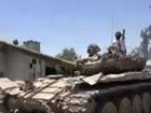 Quân đội Syria quần nhau với phe thánh chiến ở ngoại vi Damascus (video)