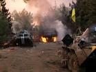 Tốp lính Ukraine mất mạng khi liều tấn công Donbass (video)