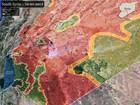 Quân đội Syria bất ngờ tung đòn tấn công phiến quân được Mỹ hậu thuẫn