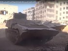 Quân đội Syria huyết chiến phiến quân ở ngoại vi đông Damascus (video)