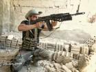 Quân đội Syria tấn công dữ dội cứ địa thánh chiến ngoại ô Damascus (video)