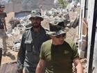 Quân đội Syria quyết thắng phe thánh chiến ngoại vi Damascus