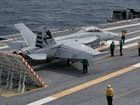 Xem siêu mẫu hạm Mỹ 13 tỷ USD phóng hạ máy bay chiến đấu