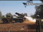 Syria: SDF nã pháo phản lực trả đũa quân Thổ Nhĩ Kỳ tại Aleppo (video)