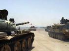 """""""Hổ Syria"""" tấn công không-bộ diệt IS trên sa mạc Homs (video)"""