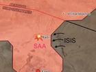 Mỹ lại trắng trợn oanh kích quân đội Syria tại Raqqa
