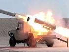 Quân đội Syria phóng tên lửa tấn công ác liệt phiến quân ven Damascus