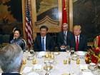 """Giải mã 10 giây """"im lặng lịch sử"""" của ông Tập Cận Bình trong bữa tiệc với Donald Trump"""