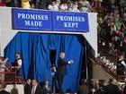 """Donald Trum ca ngợi """"100 ngày đầu của nhiệm kỳ"""""""