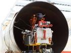 Kiểm tra đường ống dẫn dầu bằng robot