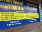 Hà Nội: Văn phòng cho thuê rớt giá, bội cung