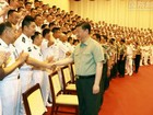 Trung Quốc: Ông Tập Cận Bình thị sát Hải quân nhân đại hội đảng