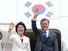 """Tổng thống Hàn Quốc """"mang"""" hơn 35 tỷ USD đến Mỹ"""