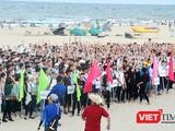 Đà Nẵng: Hơn 1.500 sinh viên kêu gọi chung tay bảo vệ môi trường biển
