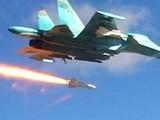 Chiến đấu cơ Nga huỷ diệt sở chỉ huy phiến quân ven Damascus (video)