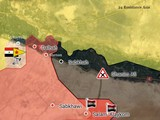 """""""Hổ"""" Syria đè bẹp IS chiếm 3 cứ địa, tiến cách Deir Ezzor 70 km"""