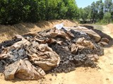 Formosa chôn 100 tấn chất thải ở trang trại sếp công ty môi trường