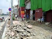 Quận Hoàn Kiếm muốn dùng gạch bê tông giả đá để lát vỉa hè