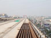 Dự án đường sắt Cát Linh - Hà Đông: Lao lắp thành công phiến dầm cuối cùng