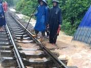 18h hôm nay, đường sắt Bắc - Nam sẽ thông tuyến trở lại