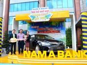 Khách hàng Nam Á Bank trúng Toyota Camry 2.5G gần 1,3 tỷ đồng