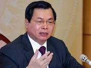 Ủy ban Kiểm tra Trung ương đề nghị cảnh cáo cựu Bộ trưởng Vũ Huy Hoàng