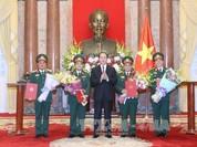 Thăng quân hàm 4 sĩ quan cấp cao lên Thượng tướng