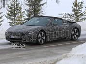 BMW i8 Spyder trên đường chạy thử