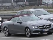 Mercedes-Benz E-Class Cabriolet bản sản xuất lộ diện trên phố