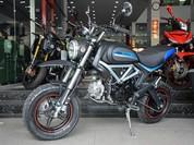 Nhái thiết kế Ducati Scrambler, xe Trung Quốc có giá chỉ 36 triệu đồng