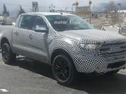 Ford Ranger thế hệ mới lộ diện trên đường thử