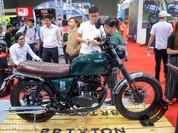 Sản xuất tại Trung Quốc, mô tô Brixton gán mác 'xe Tây' vào Việt Nam