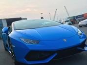 Siêu xe Lamborghini Huracan màu xanh Lemans về Việt Nam
