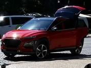 Hyundai Kona - đối thủ mới của Mazda CX-3 lần đầu lộ diện