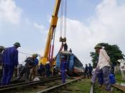 Bộ GTVT yêu cầu khẩn trương tìm nguyên nhân tàu hỏa trật bánh