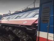 Sự cố tàu hỏa trật bánh liên tiếp có nguyên nhân do chạy quá tốc độ