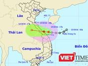 Áp thấp nhiệt đới đe dọa bờ biển Đà Nẵng đến Quảng Trị