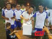 CLB Bóng đá phóng viên Đà Nẵng huy động gần 3,1 tỷ đồng và 20 tấn gạo cho đồng bào vùng lũ