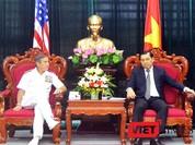 Tướng 4 sao Hải quân Mỹ - Đô đốc Harry B. Harris Jr. thăm Đà Nẵng