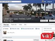 """Cảnh sát giao thông Đà Nẵng """"chính thức lên face"""""""