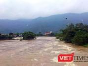 Lũ khẩn cấp trên các sông ở miền Trung, hàng ngàn hộ dân đã phải sơ tán khẩn